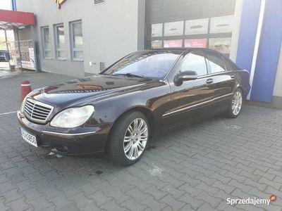 używany Mercedes S500 v8 w220!!Benzyna