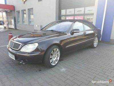 używany Mercedes S500 v8 w220! ZAMIANA