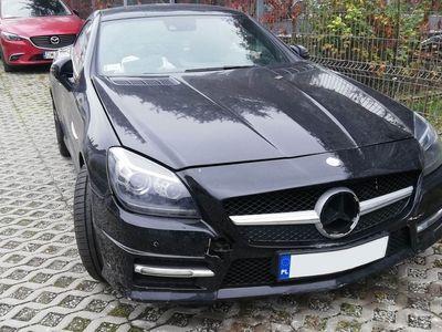 używany Mercedes SLK200 R172 2015 USZKODZONY OKAZJA!