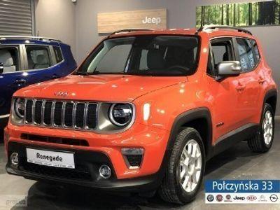 używany Jeep Renegade Face lifting Limited 1.3 150KM Automat   Pomarańczowy / Czarny fotel   2020
