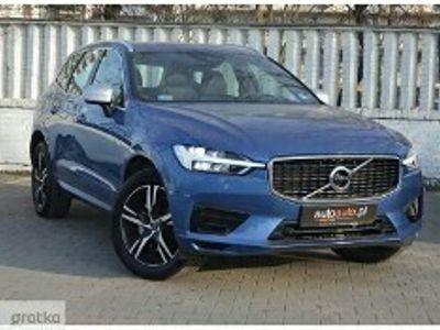 używany Volvo XC60 II SalonPL,VAt23%,T4 R Design,BEZWYPADKOWY,2,0L,190KM,benzyna, aut 8 bi
