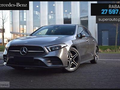 używany Mercedes 200 Klasa A W177(163KM) | AMG + Premium Plus + Night | Nowy Rocznik 2020!