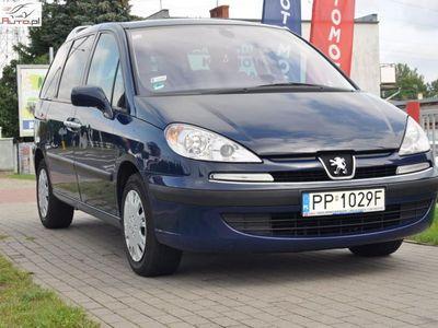 używany Peugeot 201 807 2.0dm3 136KM 2007r.172km 2.0 HDI 136KM Lifting Zadbany Zarejestrowany