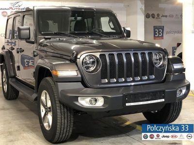 używany Jeep Wrangler 2.2dm3 200KM 2018r. 2km JL Unlimited Sahara 2.2 200KM Diesel   NOWY MODEL - Granite Crystal