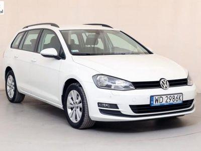 używany VW Golf 1.6dm3 110KM 2015r. 134 326km WD2986K Kombi 1.6 TDI Comfortline Salon Polska
