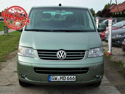 używany VW Multivan 2.5dm 131KM 2003r. 285 500km