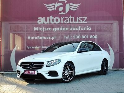 used Mercedes 220 Klasa E W213Faktura Vat 23% Pakiet AMG samochód demo jak nowy