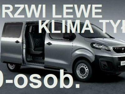 używany Peugeot Expert Kombi 150KM 9-osobowy Klima II i III rząd Drzwi lewe Rata 1085zł II (2007-)
