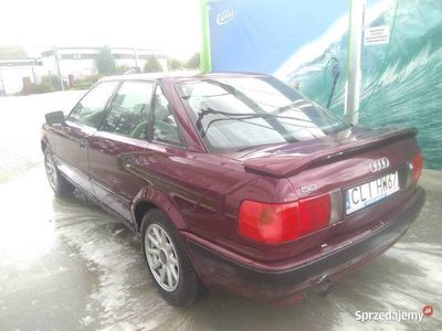 używany Audi 80 B4 zadbany, klasyk, piekny kolor, automat 115KM LPG