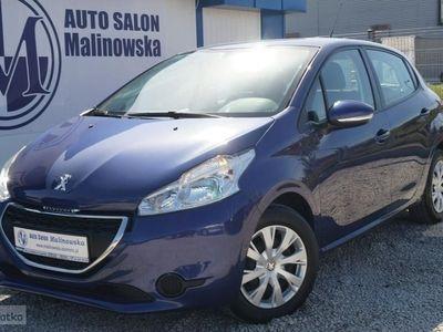 używany Peugeot 208 1.2dm3 82KM 2014r. 51 000km Benzyna 51 Tys.Km PureTech Klimatronik Tablet Led