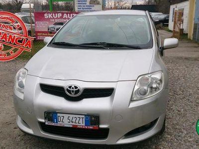 """używany Toyota Auris I """"SOL"""" 126HP Bardzo ekonom. Okazja !!! I-rej. XII.09r."""