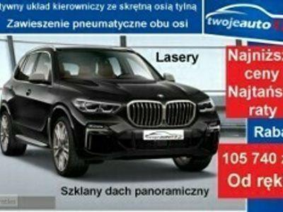używany BMW X5 G05 M50d (400KM) Pak. Innowacji, Asystent parkowania Plus, HiFi Harman+H