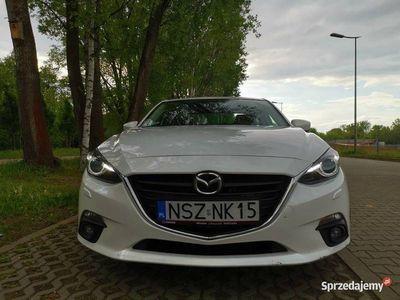 używany Mazda 3 2014 Biała Perła