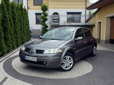 używany Renault Mégane II 1.6dm 112KM 2003r. 170 000km