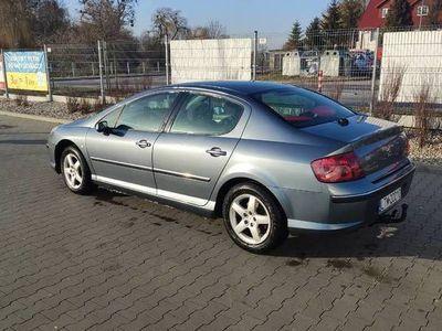 używany Peugeot 407 2.0 140KM Pb+gaz 2005r sedan ALU klima dwustrefo
