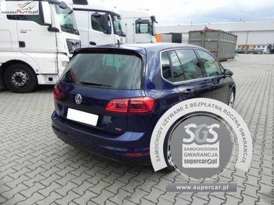 brugt VW Golf Sportsvan Golf 1.4dm3 150KM 2017r. 22 316km VII 1.4TSI 2017r., Benzyna, FV 23%, Gwarancja