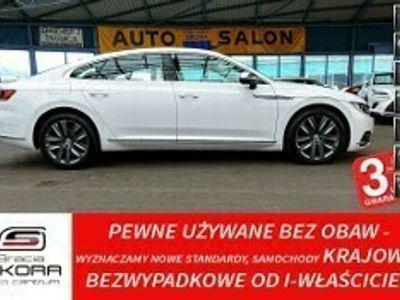 używany VW Arteon 3 LATA GWARANCJA 1WŁ Kraj Bezwypadkowy 2.0TSI 190KM DSG ELEGANCE FV2