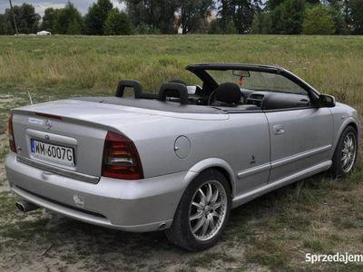 używany Opel Astra Cabriolet 2001r. Bertone Gaz Tanio Wawa - Możliwa Zamiana! II (1998-2009)