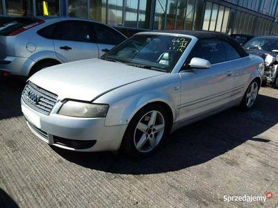 używany Audi A4 Cabriolet b6 2.4 benzyna silnik BDV anglik