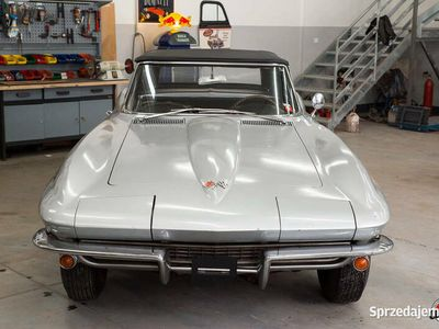 używany Chevrolet Corvette C2 cabrio 1965r 5,4L