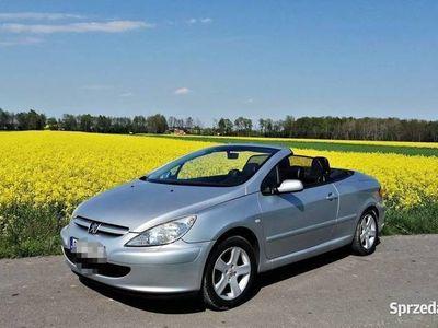 używany Peugeot 307 CC twardy dach, klima, przebieg 122tys