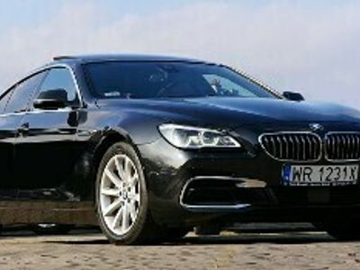 używany BMW 640 SERIA 6 xd Harman Panorama Webasto Virtual Full Led DVD