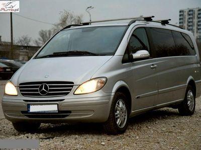 brugt Mercedes Viano 2.2dm3 150KM 2008r. 258 454km 2.2 150 KM* 8 os.* Manual* Salon Polska* Bezwypadkowy* Hak*