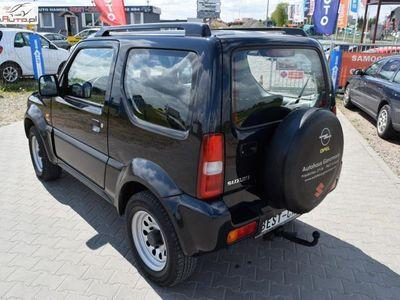 używany Suzuki Jimny 1.3dm3 86KM 2005r. 130 000km Gwarancja Techniczna, 4x4, 1,3 Benzyna - 86 KM, Klimatyzacja