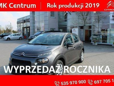 """używany Citroën C3 1.2dm3 82KM 2019r. 5km 1,2 82KM Feel - koła 16"""",klima auto. pakiet widoczność 2019 rok !!!"""