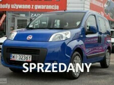 używany Fiat Fiorino QuboQubo 1.3 Multijet 16V Dynamic Euro5, Salon Pl, Serwis A