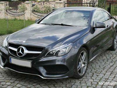 używany Mercedes E200 Coupe AMG Line tylko 24 tys przebiegu