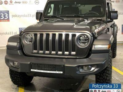 używany Jeep Wrangler 2dm3 265KM 2019r. 2km JL Rubicon 2.0 265KM Benzyna   Grafitowy / Czarna skóra   2019