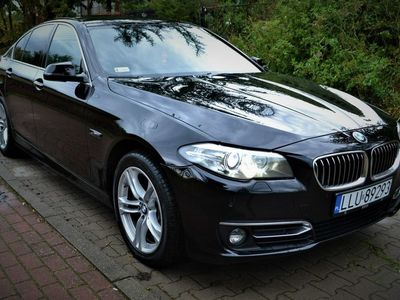 używany BMW 535 Automat/ Head UP/ Serwisowany/ Skóra/ Faktura VAT/ Okazja F10 (2009-2017)