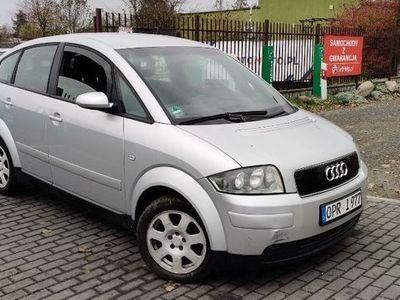 używany Audi A2 1.6 benz. 2002r. klima navi opłacony ładny !!