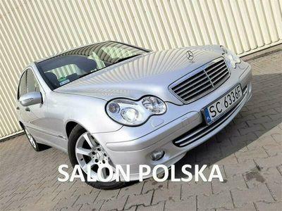używany Mercedes C180 1.8dm 143KM 2004r. 219 000km
