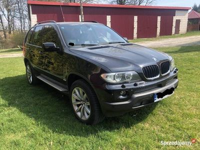 używany BMW X5 3.0D Po lifcie, M-pakiet, Hak