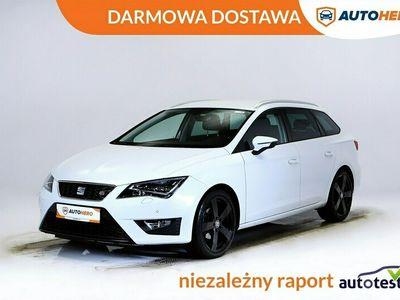 używany Seat Leon III DARMOWA DOSTAWA, FR 150KM, Full LED, Navi, Pół skóra, Hist. Serwisow
