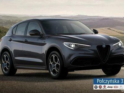 używany Alfa Romeo Stelvio Sprint Q4 2.0 200 KM AT | Szary Vesuvio | Rata od 2199 zł netto