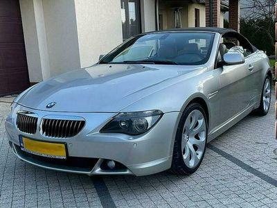 używany BMW 333 645 645CI Cabrio 4.4 KM Piękne Auto Wypełni Wyposażone Opłacona E63/E64 (2002-2010)