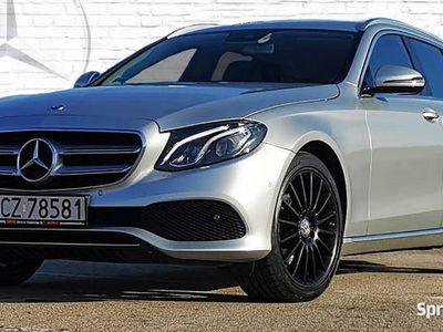 używany Mercedes E220 Klasa E W213Avantgarde Model 2018' Komforty*Blind*19 AMG