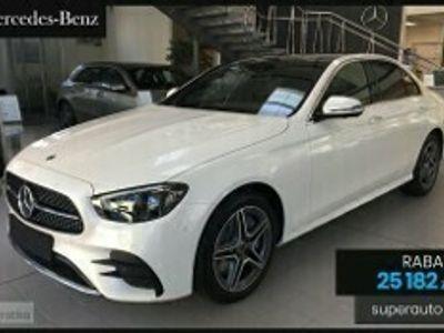 używany Mercedes 220 Klasa E 2.04MATIC (194KM)   AMG   + Premium   Bezpieczny zakup z domu!