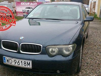 używany BMW 735 3.6dm 272KM 2002r. 197 000km