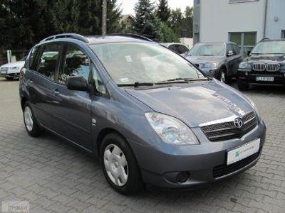 używany Toyota Corolla Verso II 1,6 benzyna-POLKI SALON-Jeden właściciel od począt