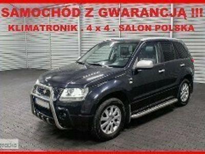 używany Suzuki Grand Vitara II 4 x 4 + Salon PL + Klimatronik + SKÓRA + Xenon !!!