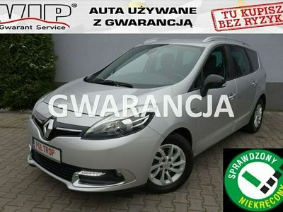 używany Renault Grand Scénic 1,5D 7 miejsc Navi Ledy Alu LIMITED VIP Gwarancja IV (2013-)