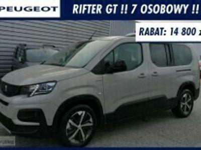 używany Peugeot Rifter Lont GT 130Km Automat 7 osobowy !! Podgrzewane Fotele !!