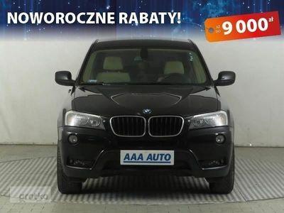 używany BMW X3 II (F25) Salon Polska, Serwis ASO, 181 KM, Automat, Klimatronic,, Piaseczno