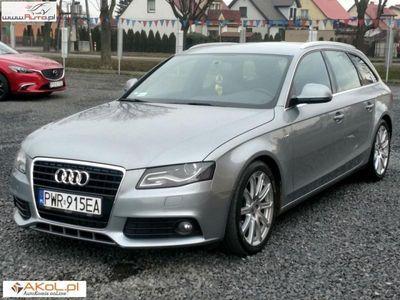 używany Audi A4 2dm3 170KM 2009r. 170 000km 2,0 TDI 170PS S Line