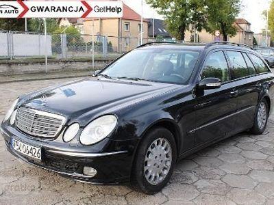 używany Mercedes 220 Klasa E W2112,2 CDI 150 KM Nawigacja Klima Zarejestrowany