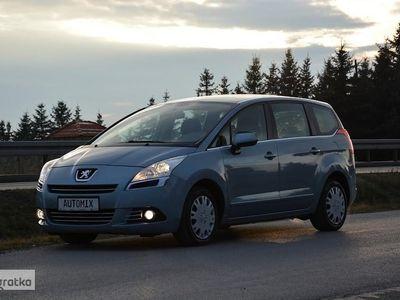 używany Peugeot 5008 1.6 HDI serwis ASO gwarancja przebiegu doinwestowany po serwisie